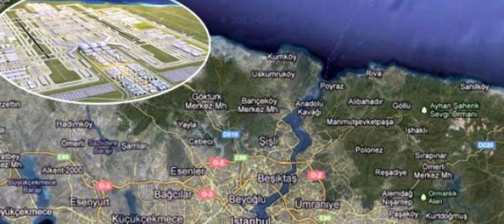 3. Köprü ve 3. Havalimanı bölgesindeki arazi fiyatları yükselişte