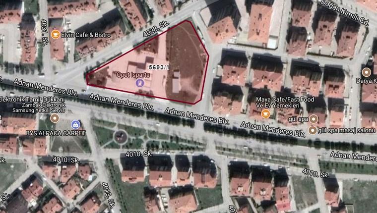 Isparta'da 10 yıllığına kiralık akaryakıt istasyonu ihalesi