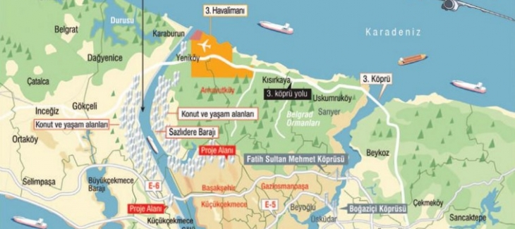 Kanal İstanbul projesinde arsa fırsatçılarına dikkat etmek gerekir