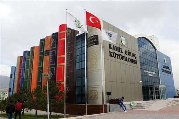 Karabük Üniversitesi kütüphanesi