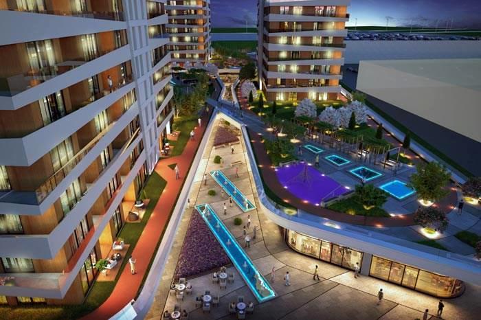 Mirage Residence,Sur Yapı imzasıyla Güneşli'de