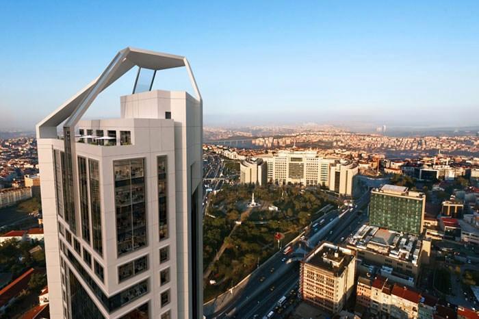 Nurol GYO'nun,Şişli'de ki projesinin ismi;Nurol Tower!!!