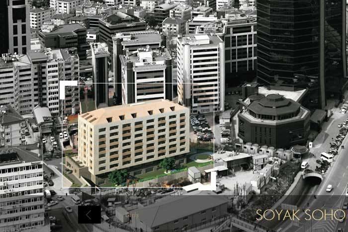 Soyak Soho,Zincirlikuyu'nun farklı projelerinden