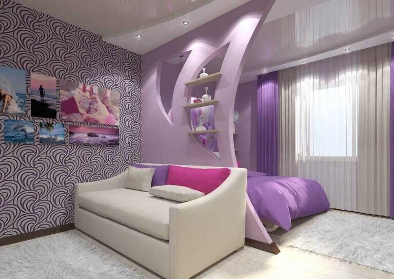 Çocuk odalarında renkli tasarımlar
