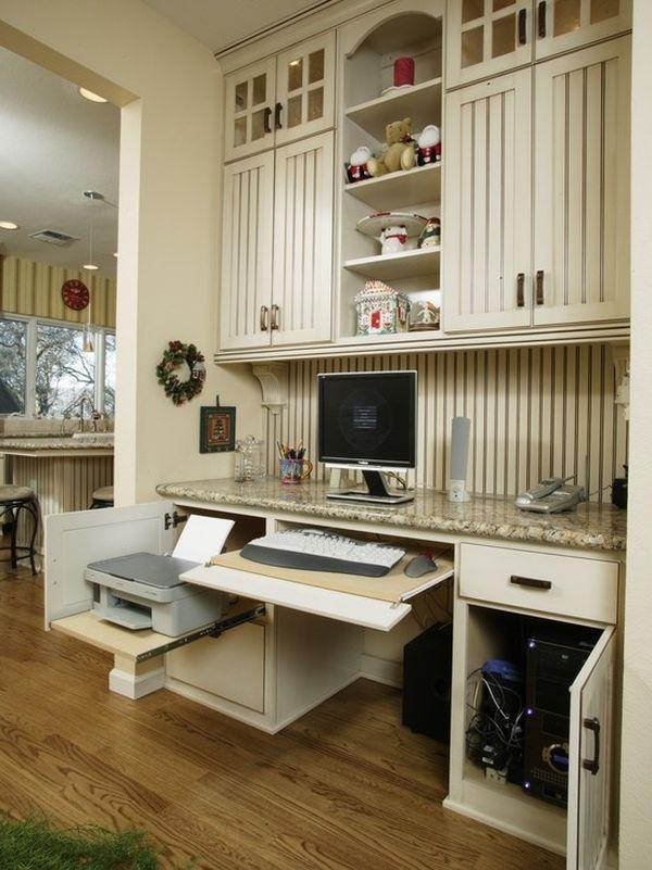 Home ofis çalışanlara mutfak tasarımları