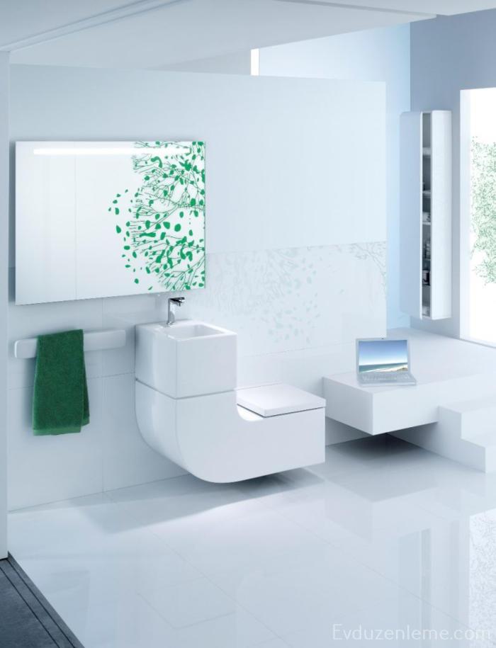 Mini banyolara uygun tasarımlar