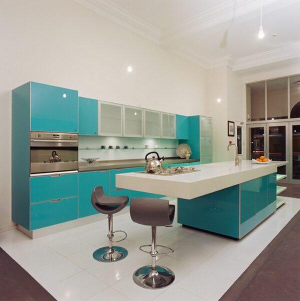 Spor ve modernize edilmiş mutfak tasarımları